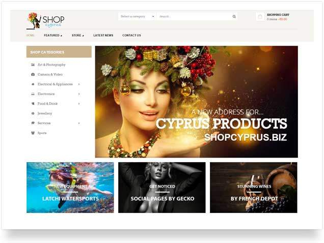 gecko - e-commerce cyprus