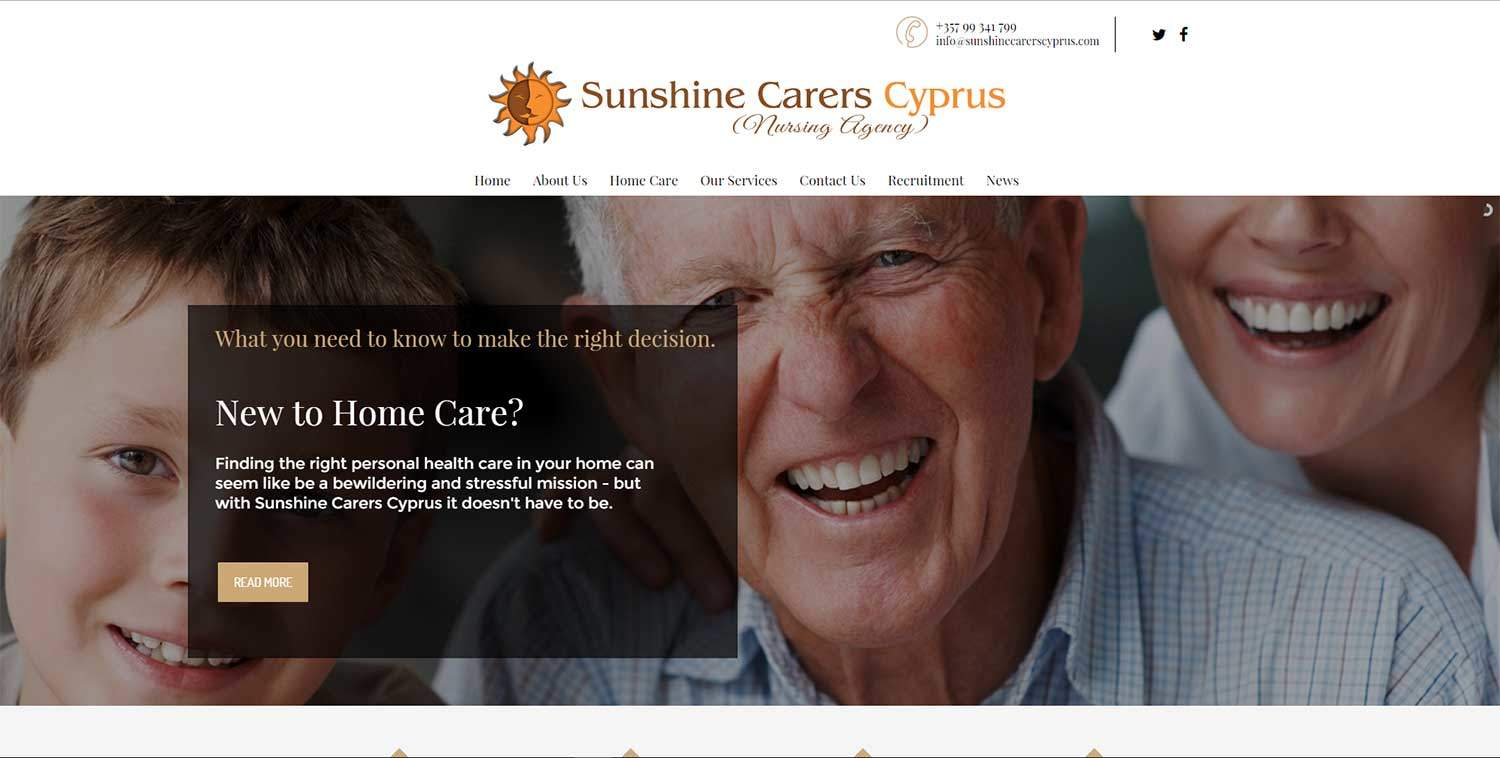 sunshine carers cyprus nursing agency