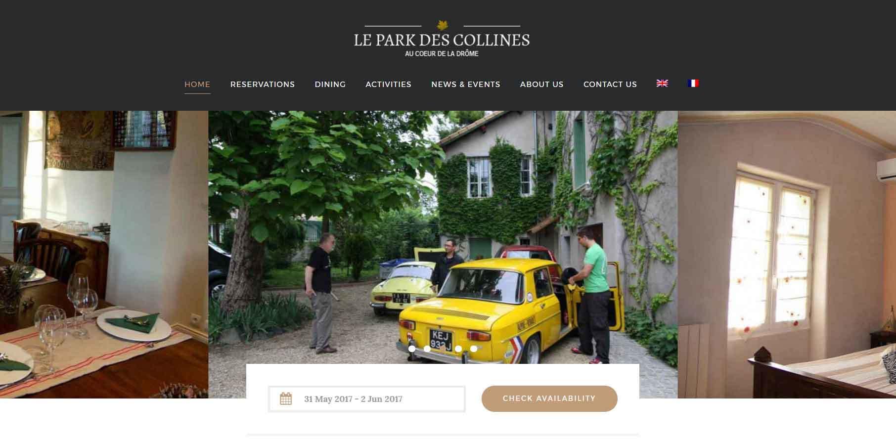 Le Park des Collines, Génissieux in the heart of the Drome Region of France