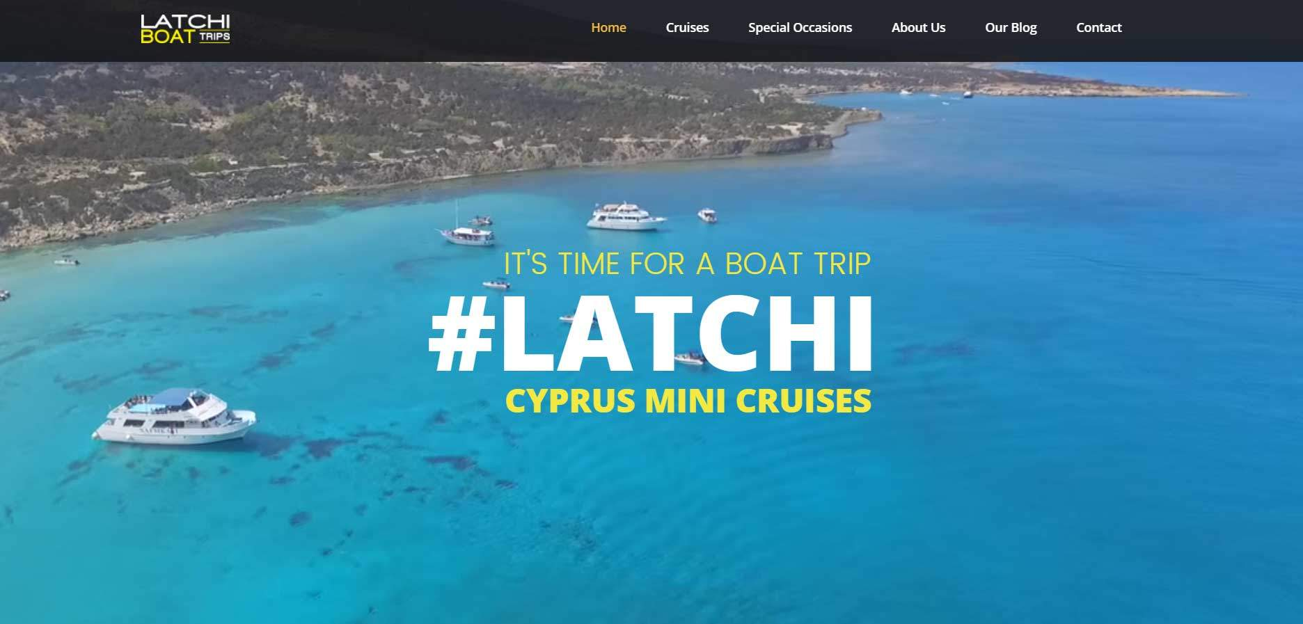 Latchi Boat Trip with Cyprus Mini Cruises, Gecko Design