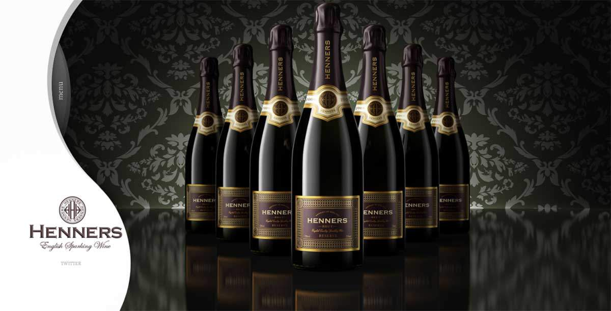 Henners Vineyard - English Sparkling Wine by Gecko, Cyprus Website Design