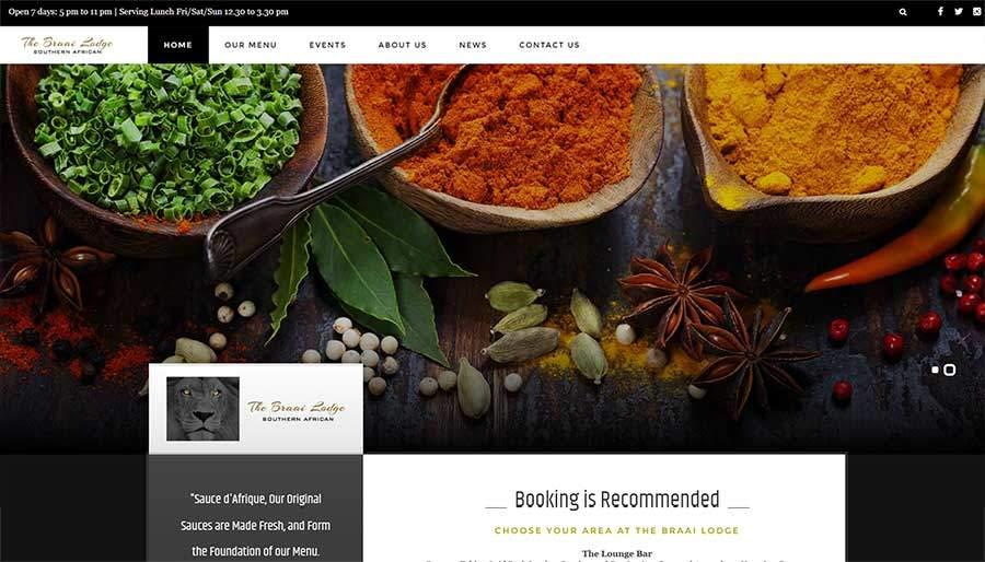 Braai Lodge Paphos, Website by Gecko Design Polis Chrysochous