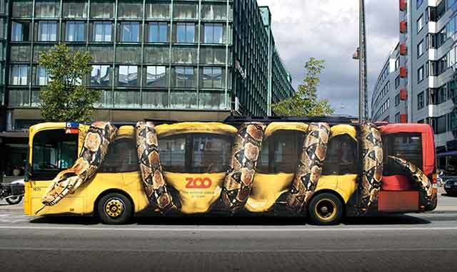 Print Design Copenhagen Zoo Vehicle Wrap