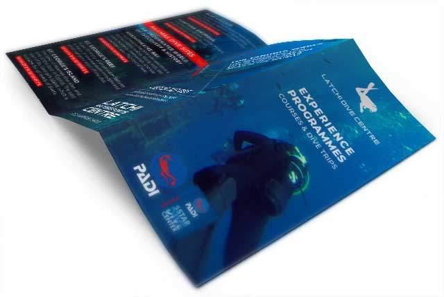 Print Design Tri-Fold Brochure   Gecko Design Cyprus