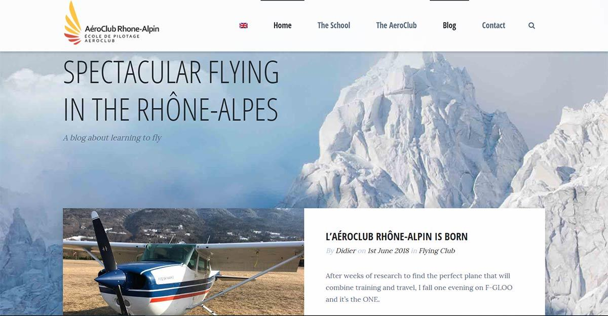 Aeroclub Rhone-Alpin and Didier Potin | Gecko Design