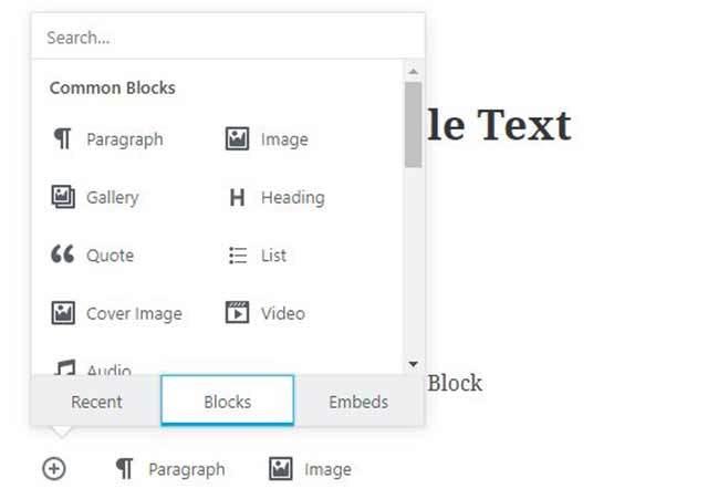 Gutenberg Block Design Options | Gecko Design