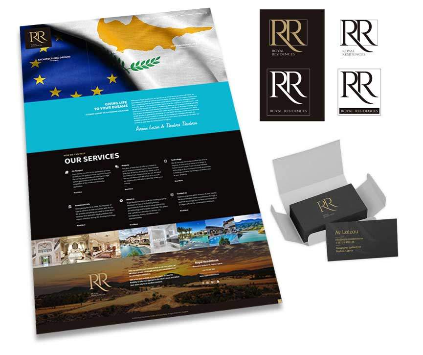 Royal Residences Cyprus. Superior Property Development | Gecko Design
