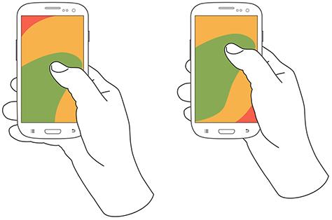 Website Design Trends in 2020 - Thumb Friendly Design